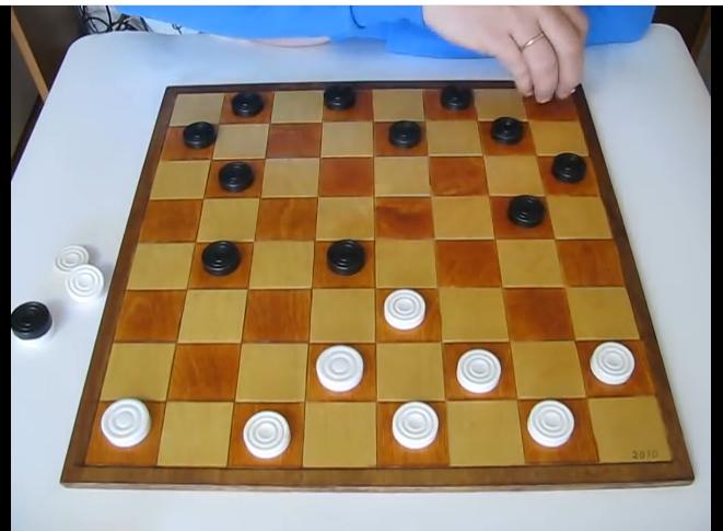 Правила игры в шашки — 4 видео